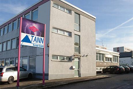 Bild vom Gebäude der TANN Europe aus Essen