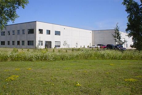 Bild vom Firmengelände der TANN Corp. Amerika